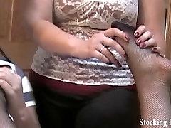 Threeway lesbian foot fetish fun