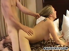 Very hot blonde amateur sex love le in action