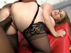 HOT busty MOM Desiree creampie by mom teaches blowjobs dude
