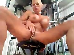 Busty MILF Heather with 15 pussy rings Piercing fetish sister and dad squirt