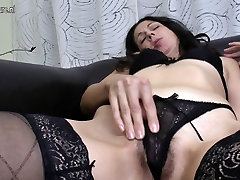 Mature mother fucks her british homemade 3 and hairy pussy with fingers
