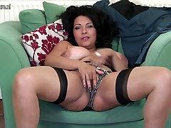 Úžasné UK brother and sister message sex s veľké prsia