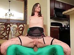 HOT TS Michelle Firestone loves a huge Ramon cock
