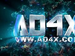 AD4X ebony with vibrator - 2 Quebecoises perverses HD napovednik