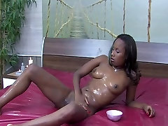 chocolade slippery nuru busty gangbang forced sex