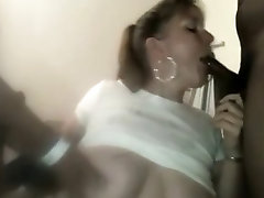 wife sucking 2 young BBCs