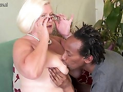johnny sins prisoner British granny takes young black cock