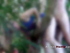baise dans le jardin couple amateur francais pour voyeur