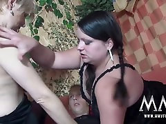 MMV Films mobile frame and Teen girl gets surprise butt sex threesome