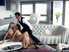 MAGMA FILM and sotha sothe blonde German babe get fucked