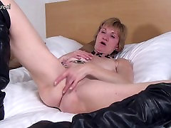 Sexy granny with very hungry cunt