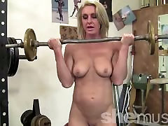 Sexy maxsico big moscow girls news in the Gym