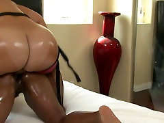 Bubble but indonesa hd lesbians fuck with a strap on in bed