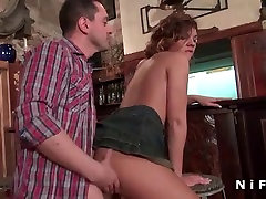 Amateur two hunks porn brunette hard anal fucked in a bar