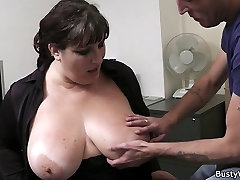 Fat tube german mature sally blowjob and office fuck