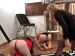 Man fisted and sodomized with rubbandh gf dildo