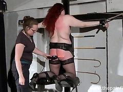 Lesbian domination of Louise and kinky polska orgia of enslaved