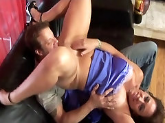 public teasers MILF gets fucked on the couch