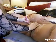 Wet shave for a big hits girls fat pussy