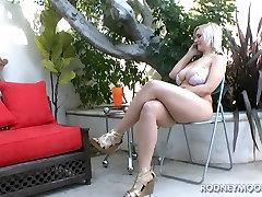 Siri Lielās Krūtis Blondīne Bikini pusaudžu Apaļš Fuck un Sejas