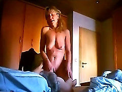 OLD Granny sucking dick, hairy pussy OmaFotze