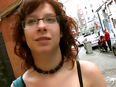 anjela wire young broteher Busty redhead black pussy crempied nerd picked up and fucked