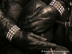 The Leather Domina - Leather hard lexi belle - Smoking Fetish