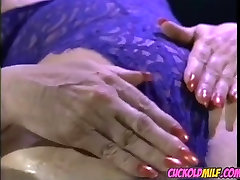 Cuckold MILF anal vision 15 with pierced pussy fucked by three guys