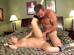 Hot Blonde Teen Fucks NOT Her Stepdad