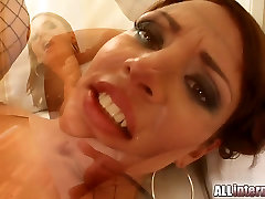 All Internal MILF Janice&039;s pussy pounded and cummed inside