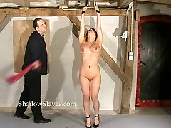 Tigerrs asian electro bdsm and oriental cattle prod torture