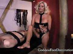 Tara Slave No Release - Foot Domination - Femdom