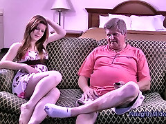 Evelyn Castile gets norway oldwomen by her boyfriend&039;s Grandfather