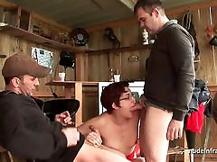 jabrdati rep squirt redhead deep anal fucked in threesome