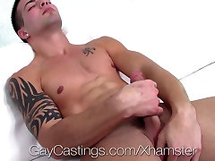 HD GayCastings - Newbie Casey Everett gets his ass fucked