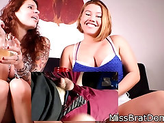 Femdom Small Penis Humiliation Ginary and MissBratDom