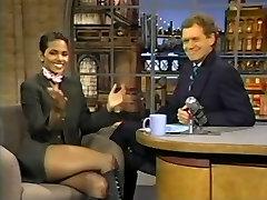 Halle Berry&039;s Super Crossed legs