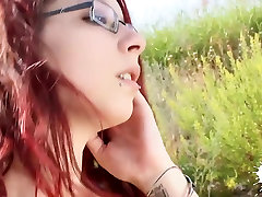 LECHE 69 18 yes od teen with glasses gets fucked outside