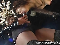 Naughty and kinky bdsm challenge for the Asian floozy
