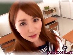 Cosplay Kirino Kousaka being nailed at school