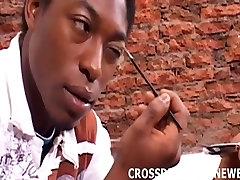 See me dressed as a cute little crossdressing ebony slut
