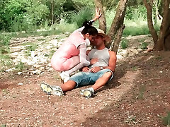 LECHE 69 Cute spanish girl gets fucked outdoor