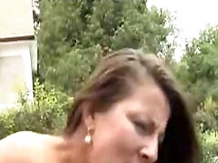 Hot fast seel xxx nithe MILf outdoor fucked and facialized