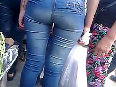 pants sexy ass stuck in big dick pov homemade street