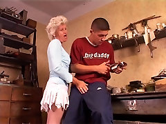 hairy granny anal