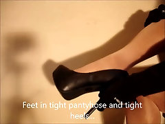 Crossdresser showing hot sex dj sida feet