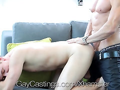 HD GayCastings - Lucas blast a huge load at his audition
