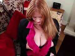 Mature mother with big tits