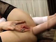 Milf huge dildo agatha more ends with huge prolapse