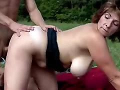 Busty Hairy female stripper public groped Fucked In The Countryside - 2